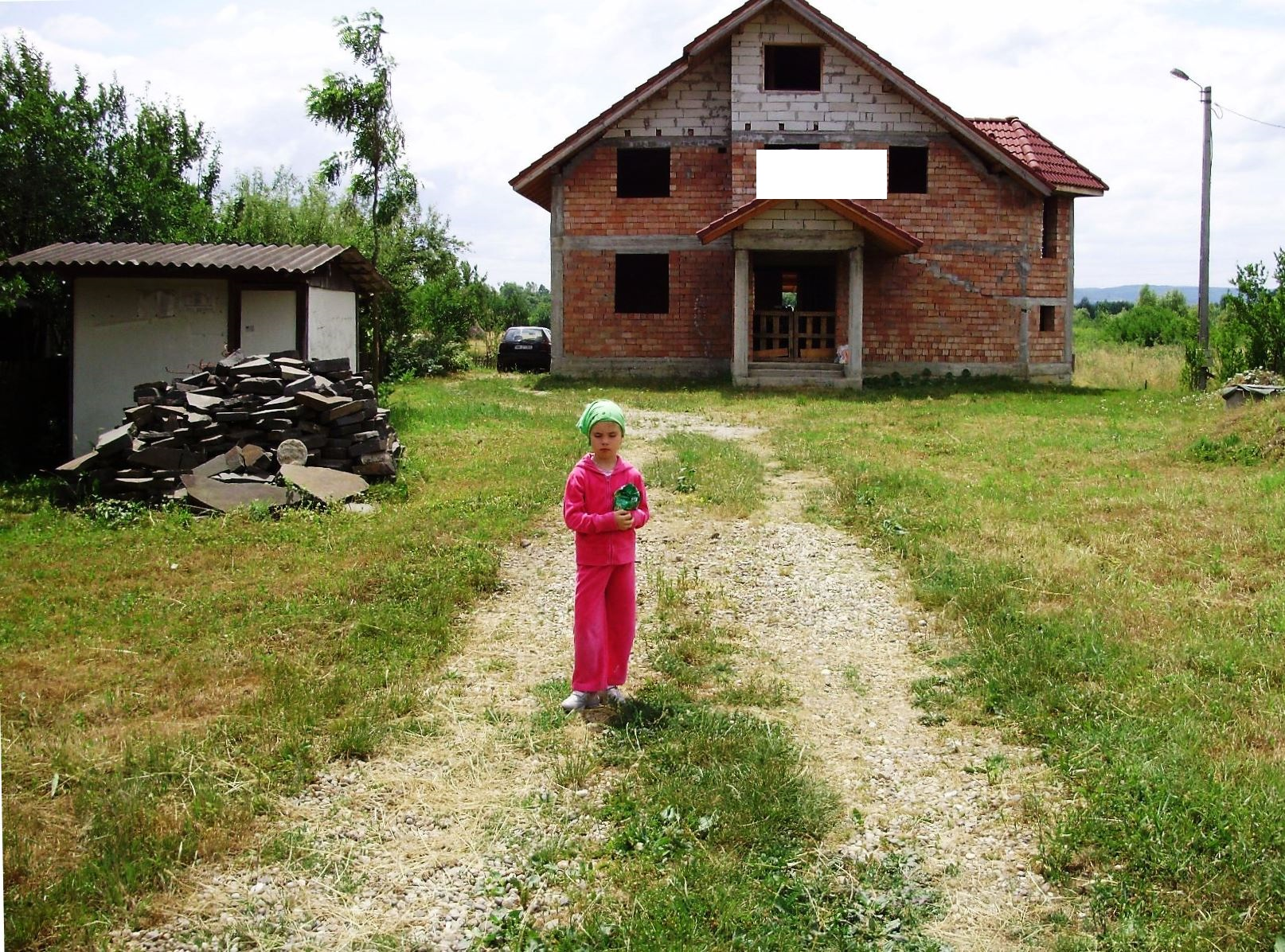 Cicarlau Vii, de vanzare casa în rosu cu 15 ari teren !